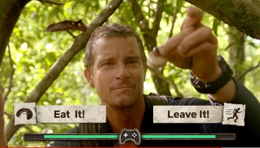 You are given the choice to have Bear eat or leave the grub